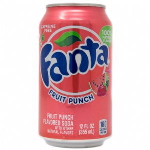 Fanta Fruit Punch Soda
